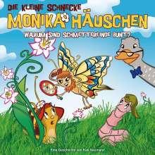 Kati Naumann: Die kleine Schnecke Monika Häuschen 28. Warum sind Schmetterlinge bunt?, CD