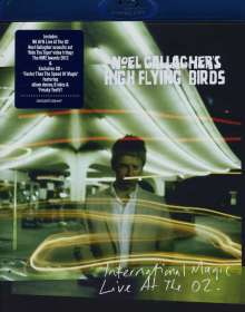 Noel Gallagher's High Flying Birds: International Magic: Live At The O2 (Blu-Ray + CD), 2 Blu-ray Discs