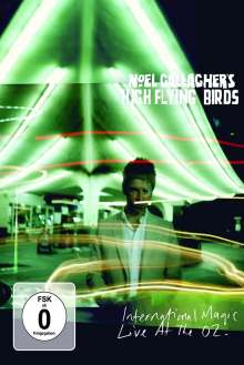 Noel Gallagher's High Flying Birds: International Magic: Live At The O2 (Deluxe Edition) (2 DVD + CD), 2 DVDs und 1 CD