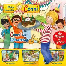 04: Conni Hat Geburtstag/Pizza/Zoo/Geht Verloren, CD