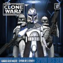 The Clone Wars 13: Kinder der Macht / Spion des Senats, CD