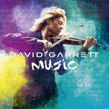 David Garrett: Music, CD