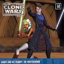 Star Wars - The Clone Wars 14: Kampf und Wettkampf / Die Waffenfabrik, CD