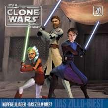 Star Wars - The Clone Wars 20: Kopfgeldjäger / Das Zillo-Biest, CD