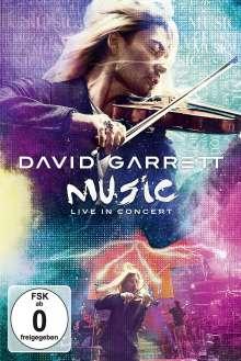 David Garrett: Music - Live In Concert, DVD