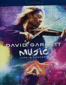 David Garrett (geb. 1980): Music - Live In Concert, Blu-ray Disc