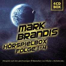 Mark Brandis: Mark Brandis Hörspielbox - Folge 01-04, 4 CDs