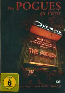 The Pogues: The Pogues In Paris 2012 (30th Anniversary Concert), DVD