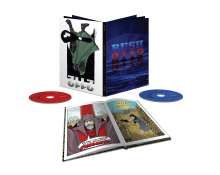 Rush: 2112 (Limited-Super-Deluxe-Box inkl. Buch), 1 CD und 1 Blu-ray Disc