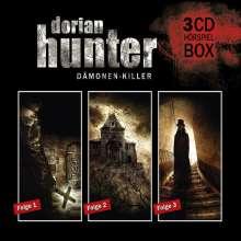 Ernst Vlcek: Dorian Hunter Hörspielbox - Folge 01-03, 3 CDs