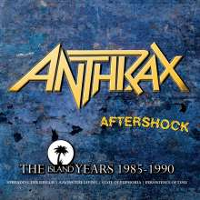 Anthrax: Aftershock: The Island Years, 4 CDs