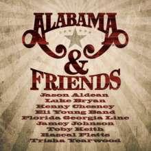 Alabama & Friends, CD