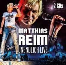 Matthias Reim: Unendlich Live, 2 CDs