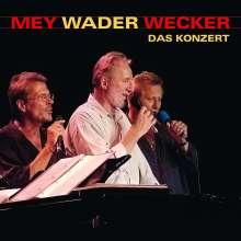 Reinhard Mey, Konstantin /Wecker & Hannes Wader: Das Konzert, 2 CDs