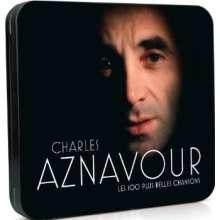 Charles Aznavour (1924-2018): Les 100 Plus Belles Chansons (Metallbox), 5 CDs