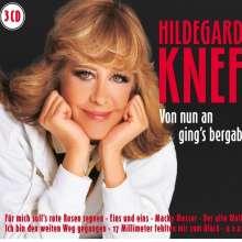 Hildegard Knef: Von nun an gings bergab, 3 CDs