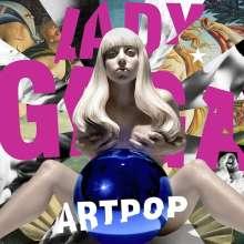 Lady Gaga: Artpop (Limited-Deluxe-Edition), 1 CD und 1 DVD