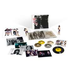"""The Rolling Stones: Sticky Fingers (Limited Super Deluxe Edition) (3 CDs + DVD + 7"""" + Hardcover-Book), 3 CDs"""