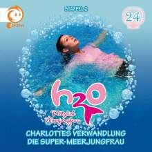 24: Charlottes Verwandlung/Die Super-Meerjungfr, CD