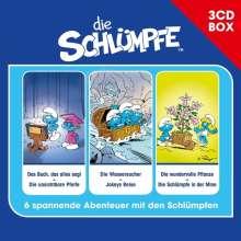 Die Schlümpfe - 3-CD Hörspielbox Vol. 1, 3 CDs