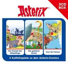 Asterix Hörspielbox Vol. 2, 3 CDs