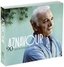 Charles Aznavour (1924-2018): 90eme Anniversaire, 4 CDs