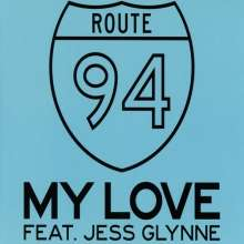 Jess Route 94 feat. Glynne: My Love (2-Track), Maxi-CD