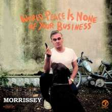 Morrissey: World Peace Is None Of Your Business (Limited Deluxe Edition), 2 CDs