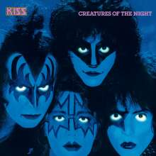 Kiss: Creatures Of The Night (German Version), CD