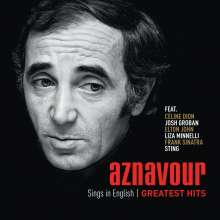 Charles Aznavour: Aznavour Sings In English: Greatest Hits, CD