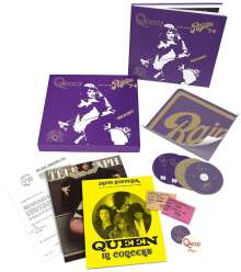 Queen: Live At The Rainbow '74 (Limited Super Deluxe Boxset) (2 CD + DVD + Blu-ray), 2 CDs