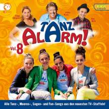 Kika Tanzalarm! 8, CD