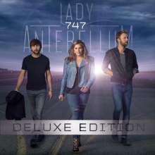 Lady Antebellum: 747 + 3 Bonustracks (Deluxe Edition), CD