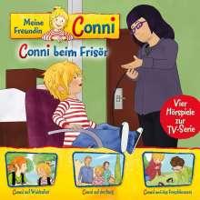 Meine Freundin Conni (TV-Hörspiel) 07: Conni b. Frisör/Waldsafari/Burg/Froschkonzert, CD