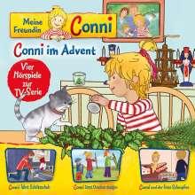 Meine Freundin Conni (TV-Hörspiel) 10: Conni im Advent / Schlittschuh / Drachen / Schnupfen, CD