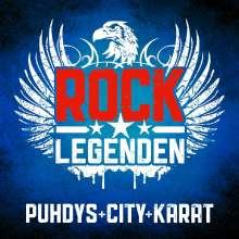 Puhdys + City + Karat: Rock Legenden Live, CD