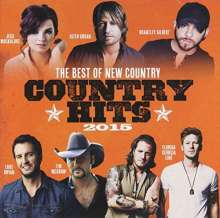 The Best Of New Country Hits 2015, CD
