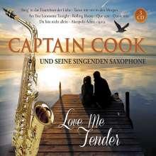 Captain Cook und seine singenden Saxophone: Love Me Tender, 3 CDs