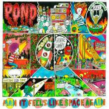Pond: Man It Feels Like Space Again, CD
