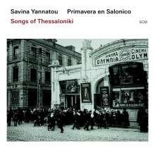 Savina Yannatou & Primavera En Salonico: Songs Of Thessaloniki, CD
