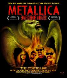 Metallica: Some Kind Of Monster (10th Anniversary Edition) (Blu-ray + DVD), 1 Blu-ray Disc und 1 DVD