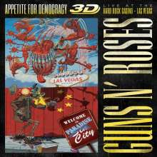 Guns N' Roses: Appetite For Democracy: Live At The Hard Rock Casino - Las Vegas 2012 (3D), 3 CDs