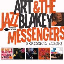 Art Blakey (1919-1990): 5 Original Albums, 5 CDs
