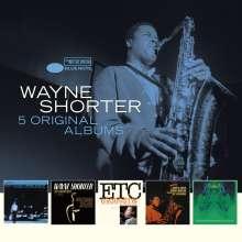 Wayne Shorter (geb. 1933): 5 Original Albums, 5 CDs