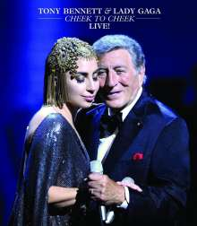 Tony Bennett & Lady Gaga: Cheek To Cheek: Live!, Blu-ray Disc