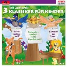 3 Klassiker Für Kinder, 2 CDs