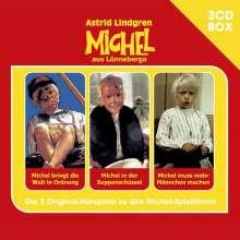 Michel Michel - 3-CD Hörspielbox, 3 CDs