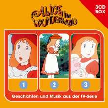 Alice im Wunderland Hörspielbox, 3 CDs