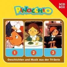 Pinocchio Hörspielbox, 3 CDs