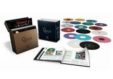 Queen: Complete Studio Album Collection (180g) (Limited-Edition Vinyl Box Set) (Colored Vinyl), 18 LPs
